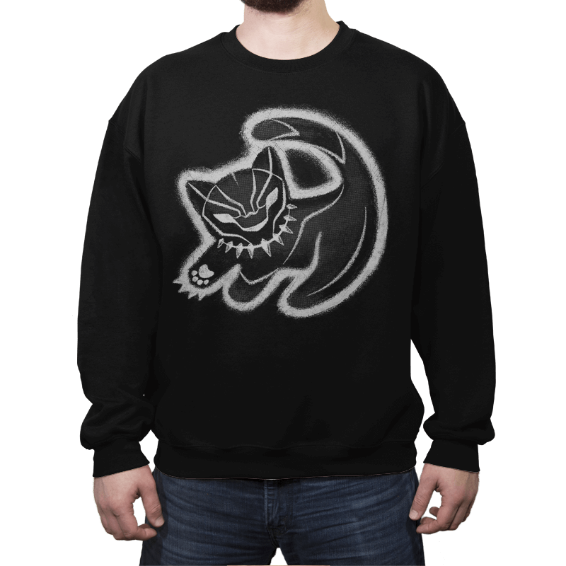 The Panther King - Crew Neck - Crew Neck - RIPT Apparel