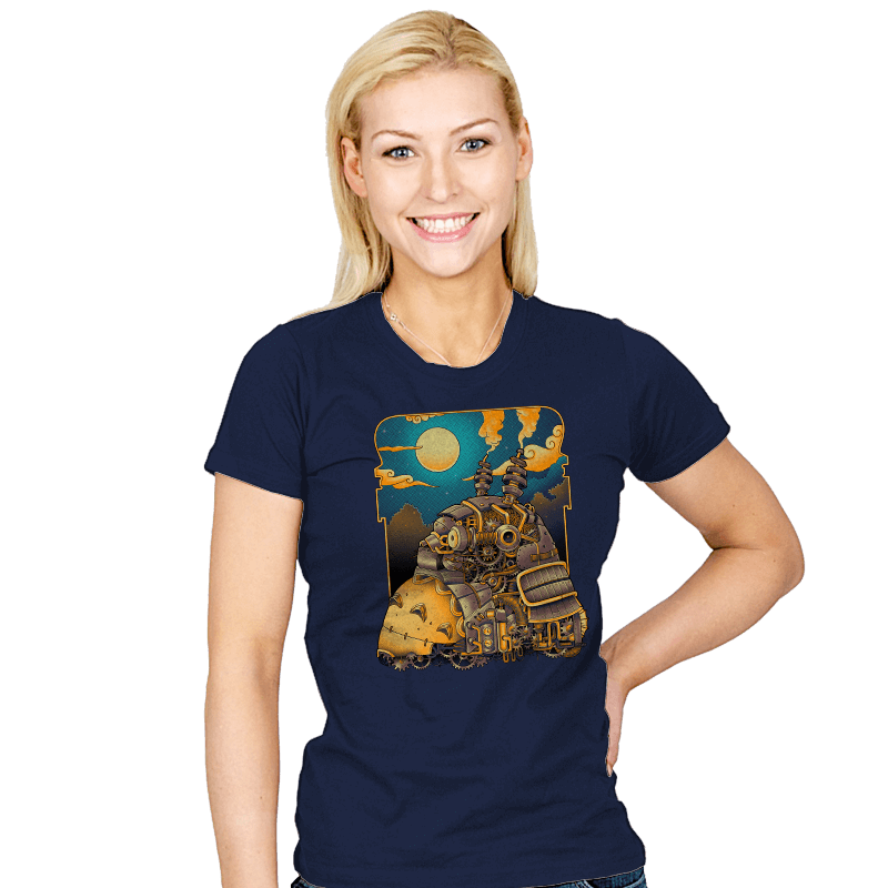 Steampunk Neighbor - Womens - T-Shirts - RIPT Apparel