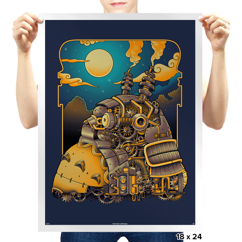 Steampunk Neighbor - Prints - Posters - RIPT Apparel