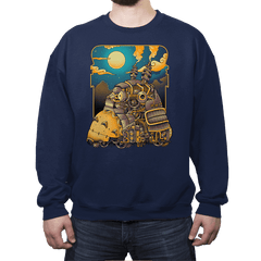 Steampunk Neighbor - Crew Neck - Crew Neck - RIPT Apparel