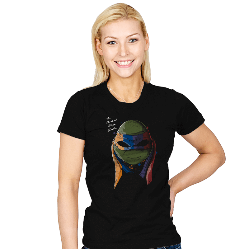 Daft Turtles - Womens - T-Shirts - RIPT Apparel
