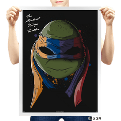 Daft Turtles - Prints - Posters - RIPT Apparel