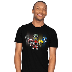 Powerpuff Rangers - Mens - T-Shirts - RIPT Apparel
