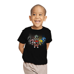 Powerpuff Rangers - Youth - T-Shirts - RIPT Apparel