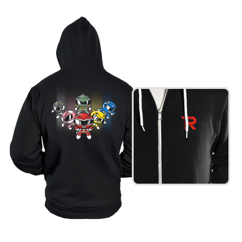 Powerpuff Rangers - Hoodies - Hoodies - RIPT Apparel
