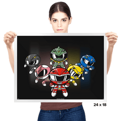 Powerpuff Rangers - Prints - Posters - RIPT Apparel