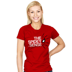 The Spidey Sense - Womens - T-Shirts - RIPT Apparel