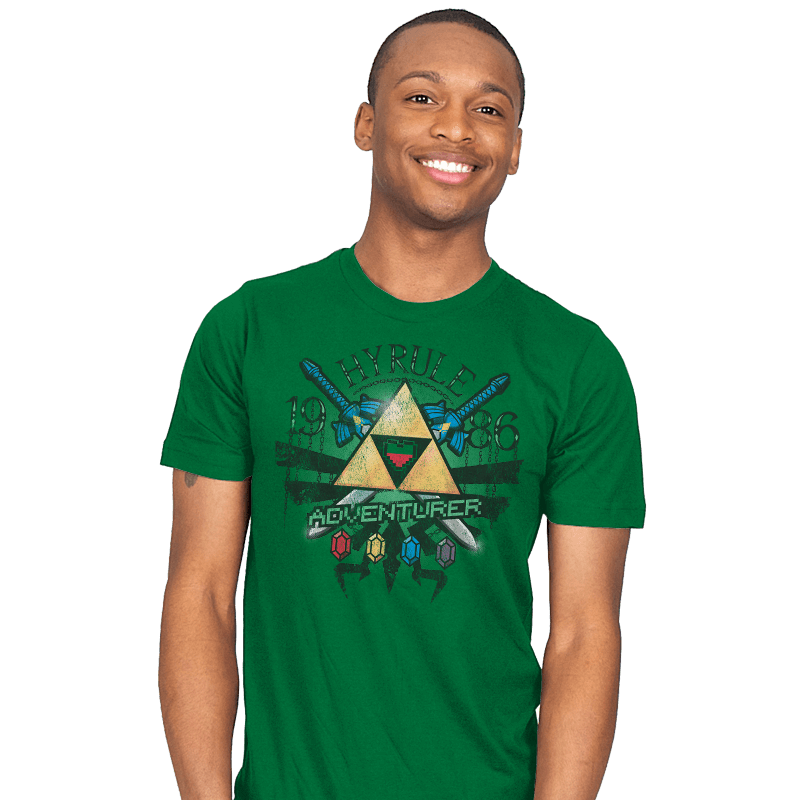 Hyrule Adventurer - Mens - T-Shirts - RIPT Apparel