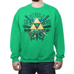 Hyrule Adventurer - Crew Neck - Crew Neck - RIPT Apparel