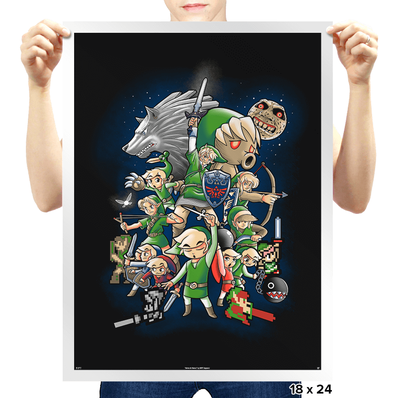 One hero  - Prints - Posters - RIPT Apparel