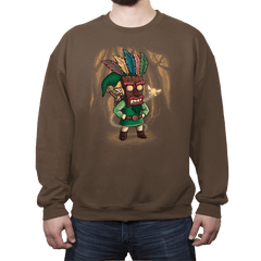 The Legend of Aku Aku Mask - Crew Neck - Crew Neck - RIPT Apparel