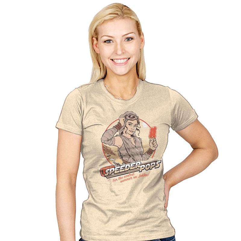Speeder Pops - Womens - T-Shirts - RIPT Apparel