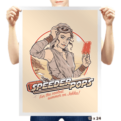 Speeder Pops - Prints - Posters - RIPT Apparel