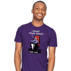 I Want Your VOICE! - Mens - T-Shirts - RIPT Apparel