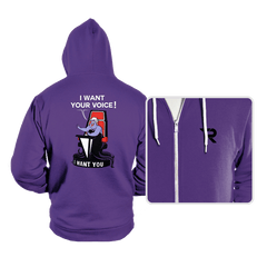 I Want Your VOICE! - Hoodies - Hoodies - RIPT Apparel