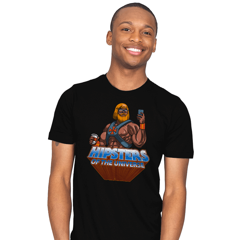 Hipsters Of The Universe - Mens - T-Shirts - RIPT Apparel