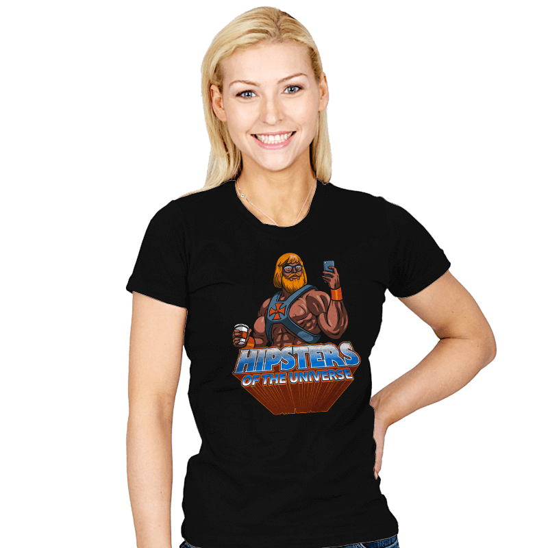 Hipsters Of The Universe - Womens - T-Shirts - RIPT Apparel