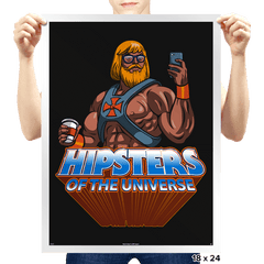 Hipsters Of The Universe - Prints - Posters - RIPT Apparel