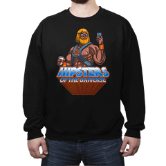 Hipsters Of The Universe - Crew Neck - Crew Neck - RIPT Apparel