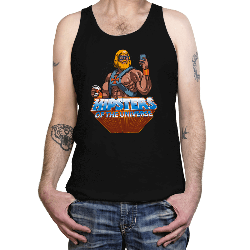 Hipsters Of The Universe - Tanktop - Tanktop - RIPT Apparel