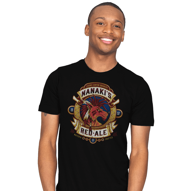Nanaki's Red Ale - Mens - T-Shirts - RIPT Apparel