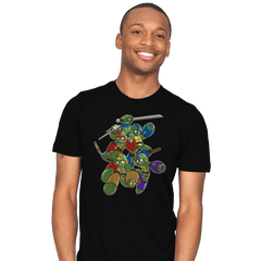 Mega Turtles - Mens - T-Shirts - RIPT Apparel