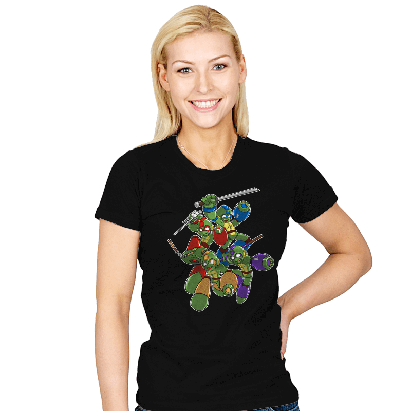 Mega Turtles - Womens - T-Shirts - RIPT Apparel