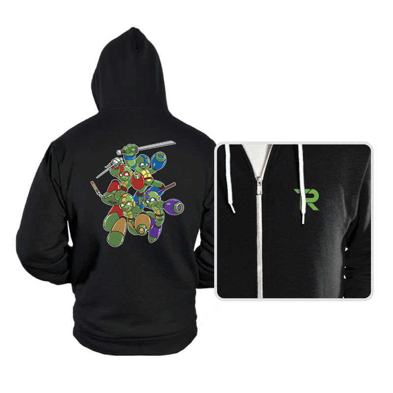 Mega Turtles - Hoodies - Hoodies - RIPT Apparel