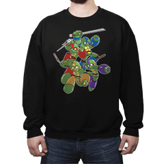 Mega Turtles - Crew Neck - Crew Neck - RIPT Apparel
