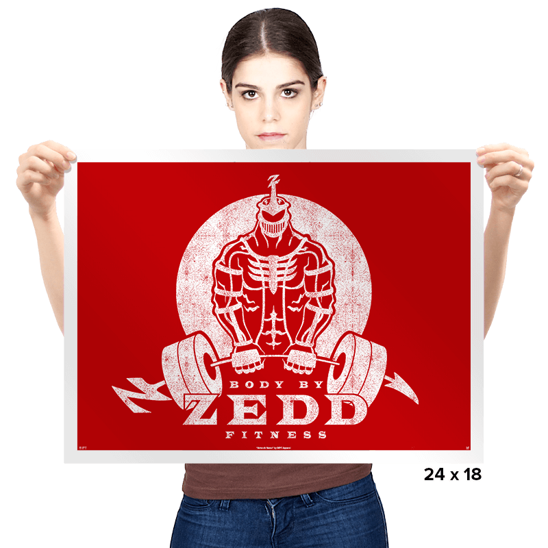 Body by Zedd - Prints - Posters - RIPT Apparel
