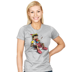 The Eighth Woodpecker - Womens - T-Shirts - RIPT Apparel