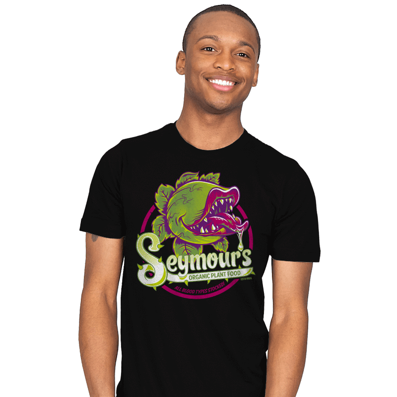 Seymour's Organic Plant Food - Mens - T-Shirts - RIPT Apparel