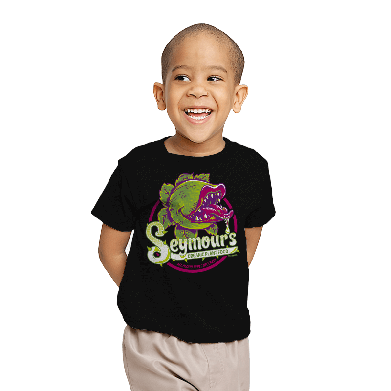 Seymour's Organic Plant Food - Youth - T-Shirts - RIPT Apparel