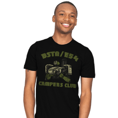 BSTN-E54 Campers Club - Mens - T-Shirts - RIPT Apparel