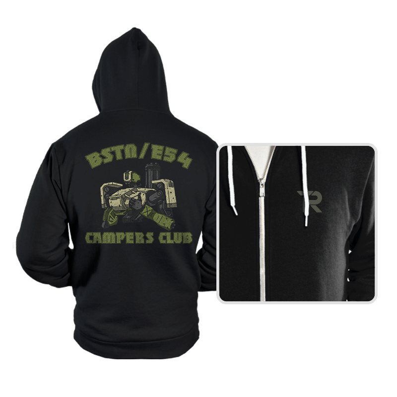BSTN-E54 Campers Club - Hoodies - Hoodies - RIPT Apparel