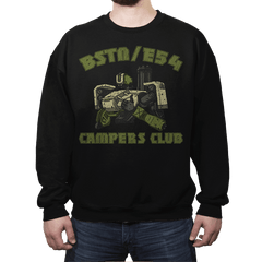 BSTN-E54 Campers Club - Crew Neck - Crew Neck - RIPT Apparel