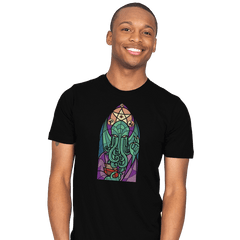 Cthulhu's Church - Mens - T-Shirts - RIPT Apparel