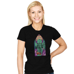 Cthulhu's Church - Womens - T-Shirts - RIPT Apparel