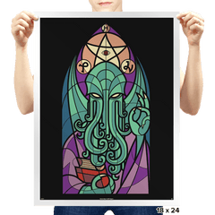 Cthulhu's Church - Prints - Posters - RIPT Apparel