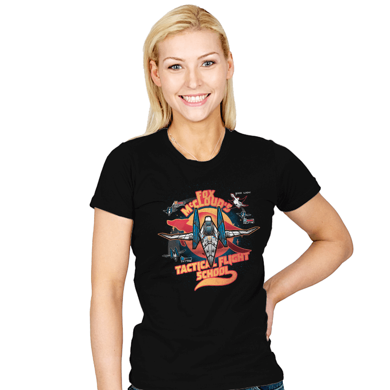 Arwing Flight School - Womens - T-Shirts - RIPT Apparel