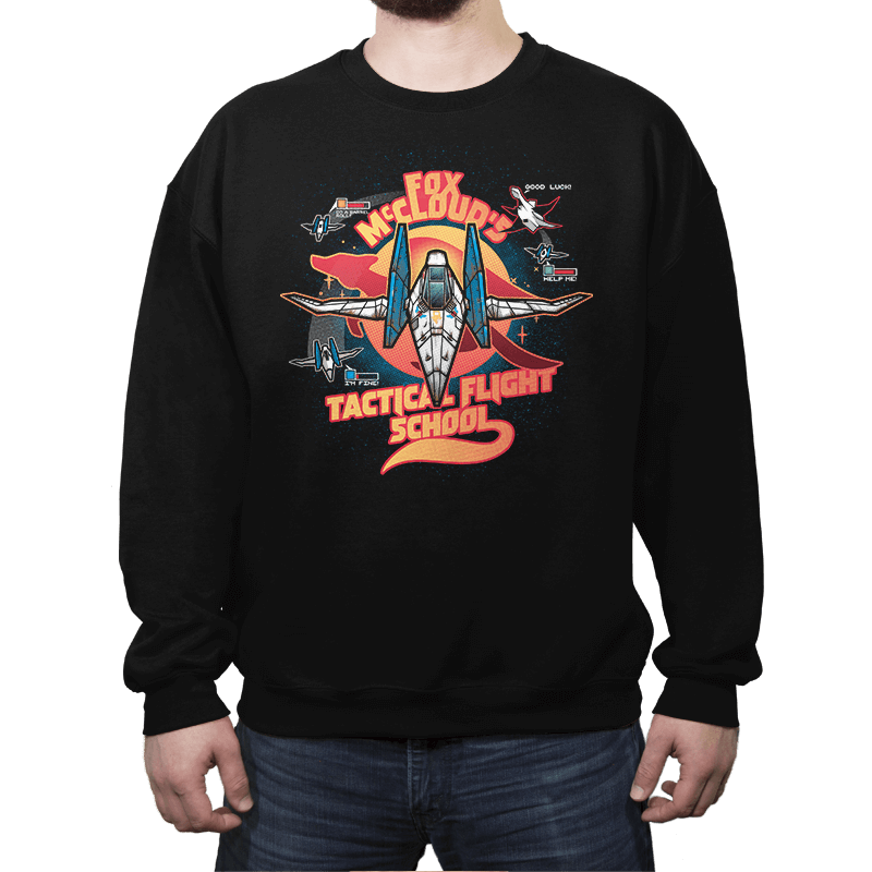 Arwing Flight School - Crew Neck - Crew Neck - RIPT Apparel