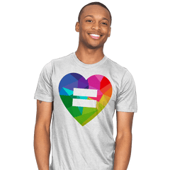 Equality - Pride - Mens - T-Shirts - RIPT Apparel