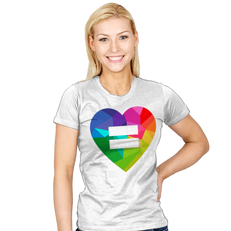Equality - Pride - Womens - T-Shirts - RIPT Apparel