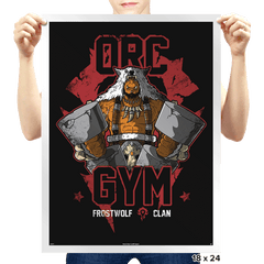 Orc Gym - Prints - Posters - RIPT Apparel