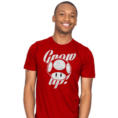 Grow up! - Mens - T-Shirts - RIPT Apparel
