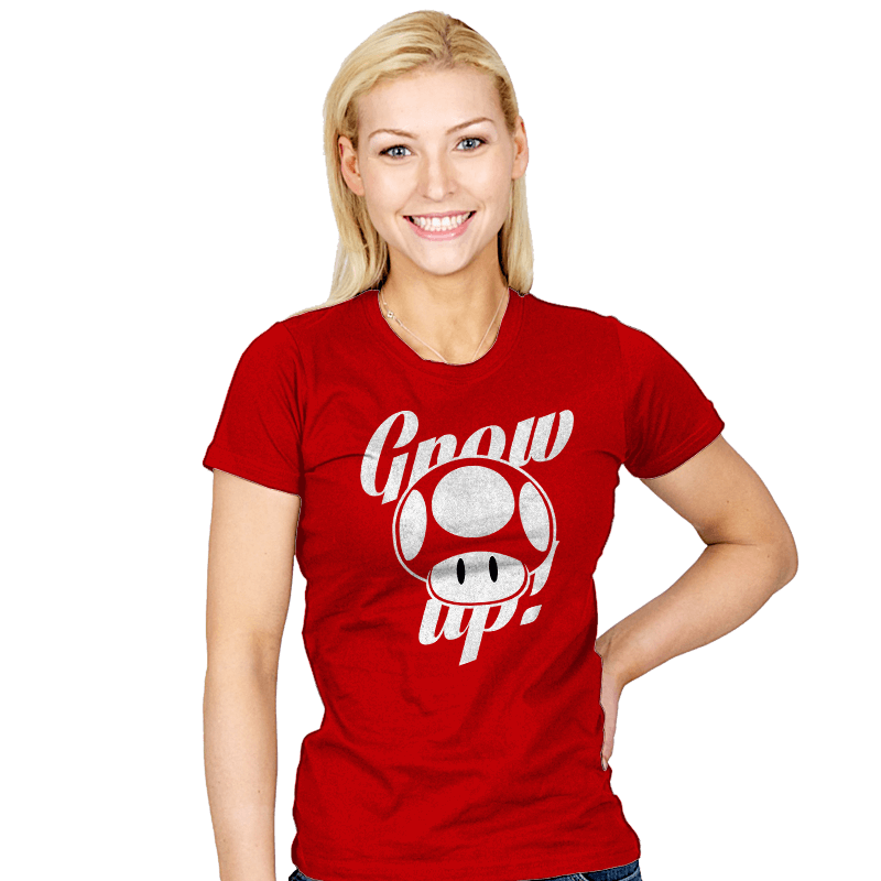 Grow up! - Womens - T-Shirts - RIPT Apparel