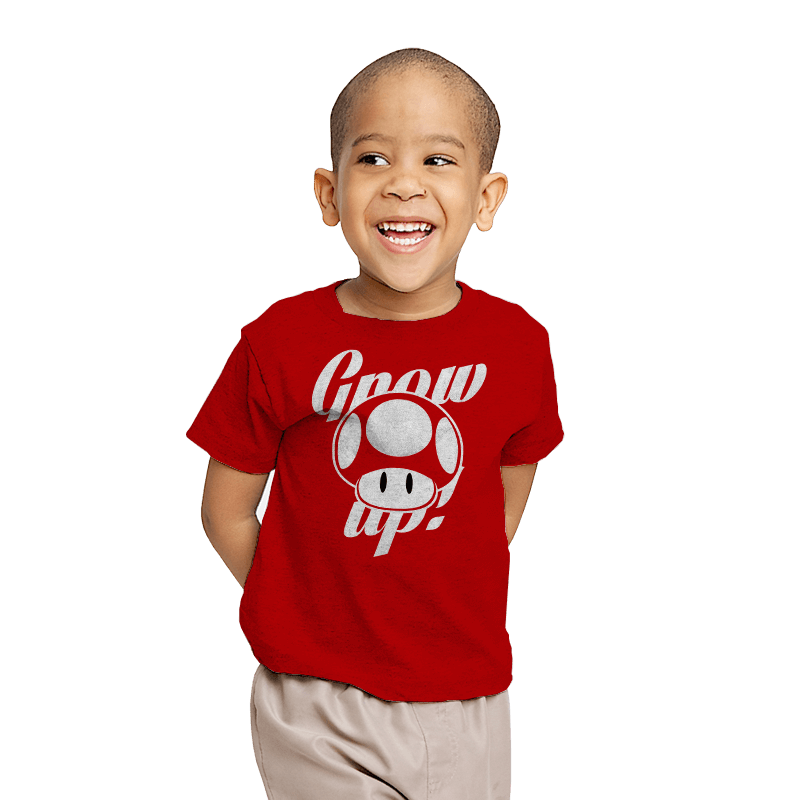 Grow up! - Youth - T-Shirts - RIPT Apparel