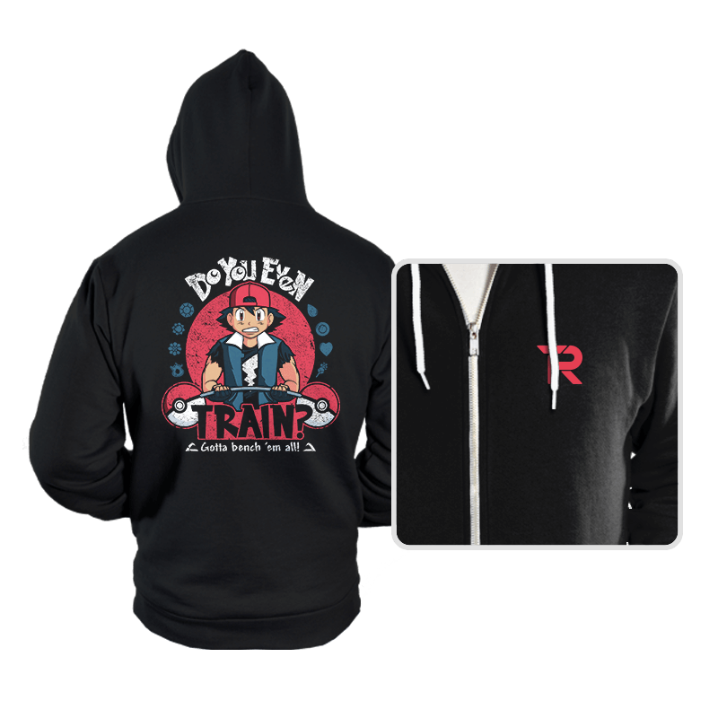 Gotta Bench 'em All! - Hoodies - Hoodies - RIPT Apparel
