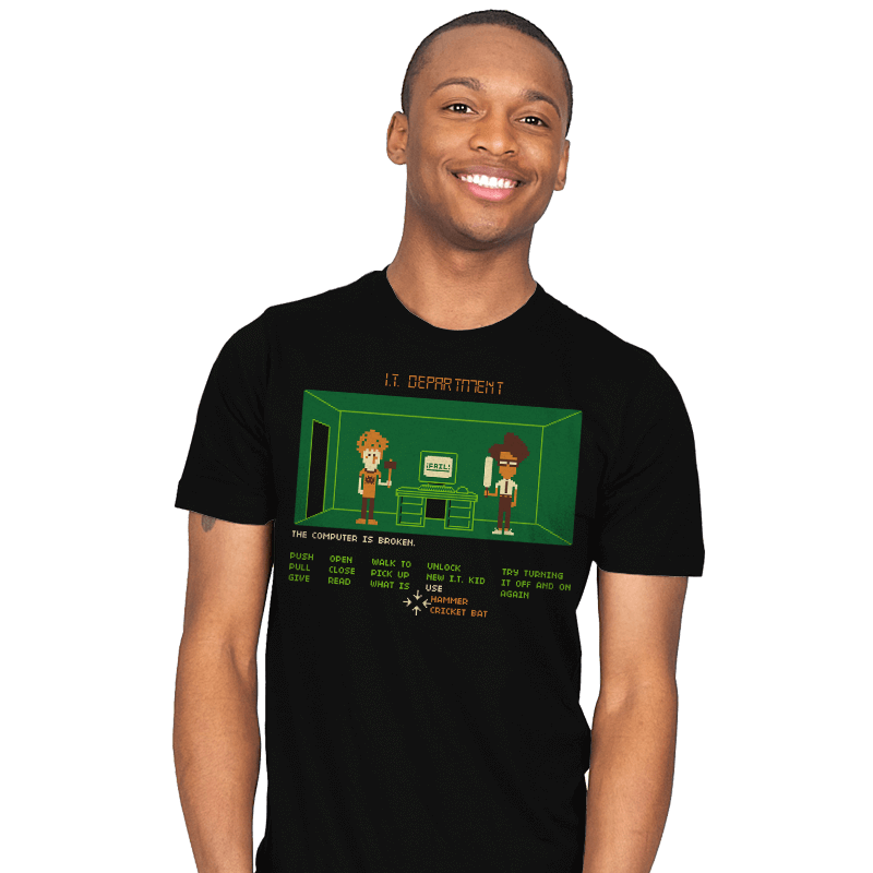 Maniac IT Department - Mens - T-Shirts - RIPT Apparel