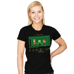 Maniac IT Department - Womens - T-Shirts - RIPT Apparel